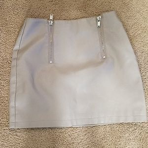 NWT Forever 21 leather skirt